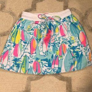 Lilly Pulitzer sailboat skirt !